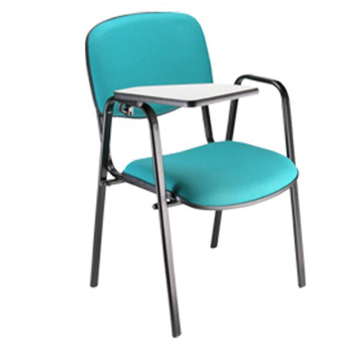 Cadeira estofada escolar universitária empilhável