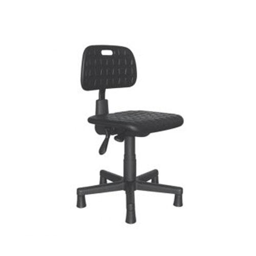 Cadeira secretária industrial PU