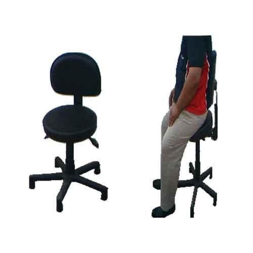Cadeira semi sentado ergonômico