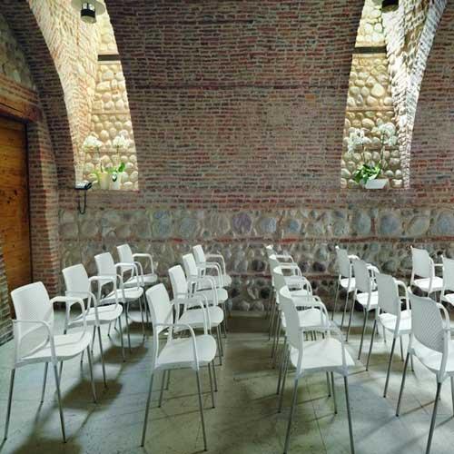 Cadeira Empilhável para Auditório