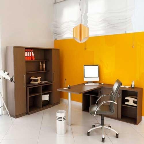 Mesa e Estante Di Lavoro