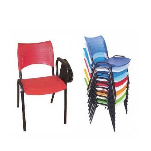 Cadeira para auditório plásticas empilháveis