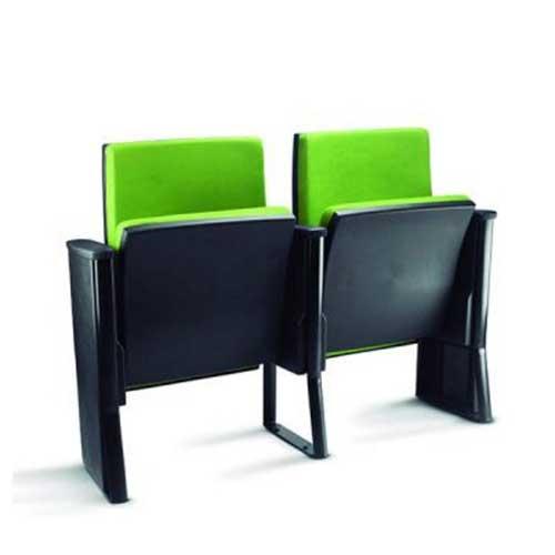 Poltrona para auditório linha cine assento rebatível