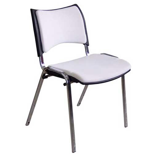 Cadeira Plastica Estofada ISO